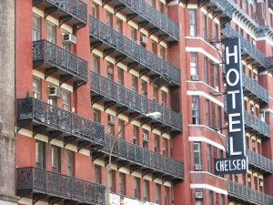 Chelsea hotel a New York