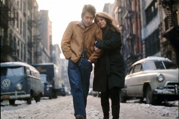 Bob Dylan e Suze Rotolo lungo le vie del Greenwich Village a New York