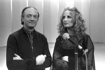 Gianni Ferrio e Mina